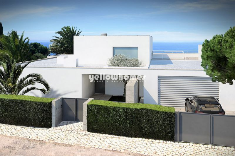 Modern 5-bed villa under construction with sea views, close to the beach in Lagos